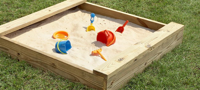 Photo of sandbox